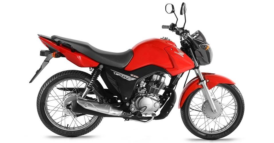 Linha Honda CG 2014