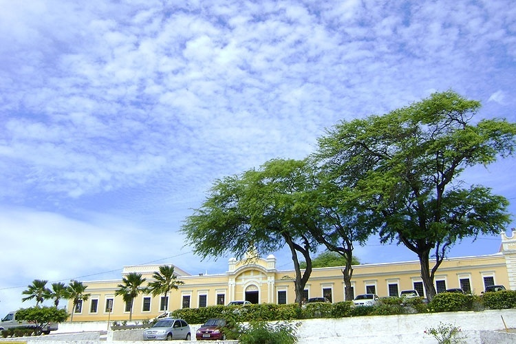 O prédio restaurado do Centro de Turismo de Natal, construção que já abrigou asilo, orfanato e presídio