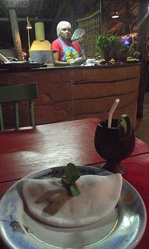 Tapioca e tapioqueiras da Casa de Taipa, restaurante de comida regional em Natal