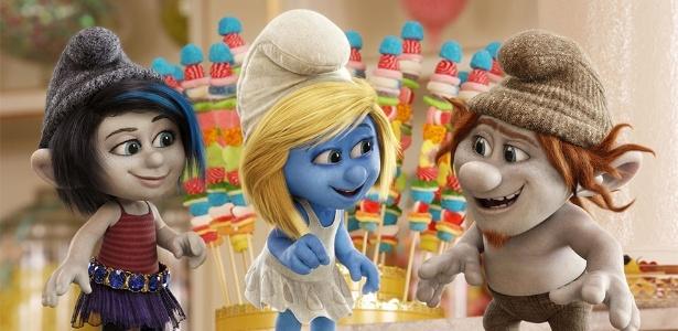 Ao tentar criar novos Smurfs, Gargamel deu origem � esperta Vexy e ao atrapalhado Hackus, dois Danadinhos