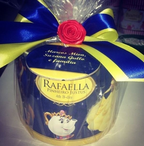 Lembrança festa de Rafinha Justus