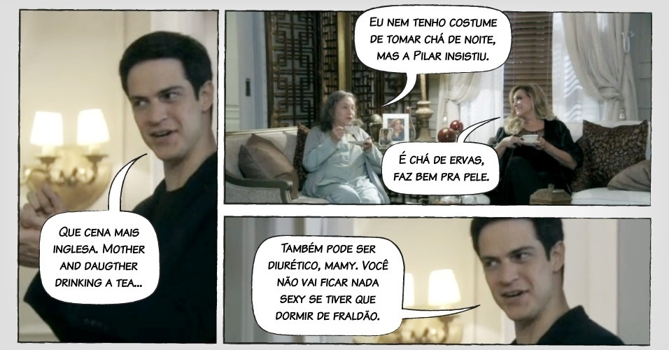 """Frase de Félix em """"Amor à Vida"""""""