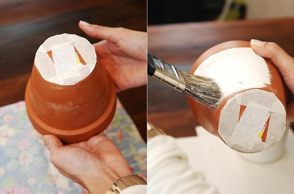 Vasinhos ficam muito mais charmosos encapados com tecido for Ceramicas reinaldo