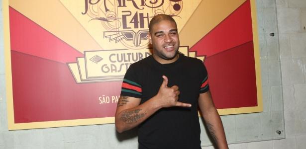 Adriano negocia futuro como jogador e empresário com o Miami United, dos EUA