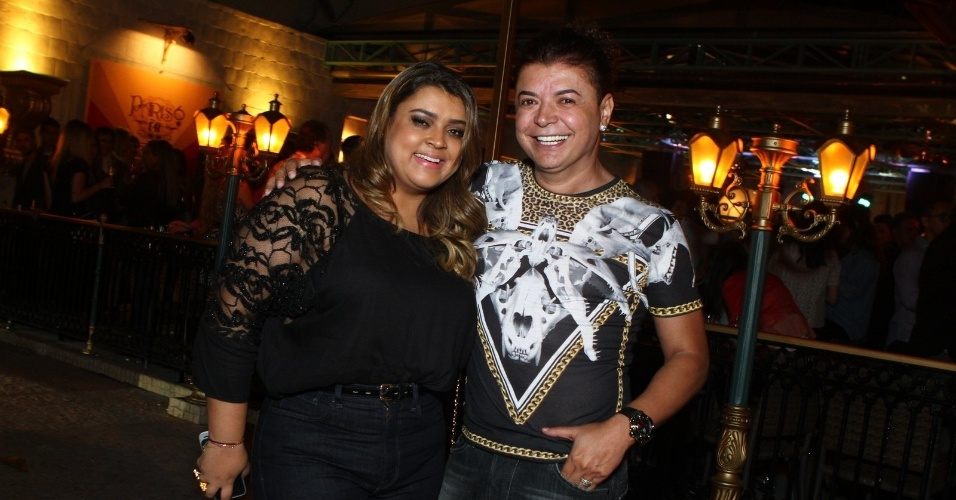 6.ago.2013 - Preta Gil e David Brazil na inauguração do restaurante Paris 6 na Barra da Tijuca, no Rio de Janeiro