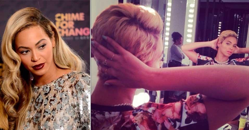 Agosto: A cantora Beyoncé surpreendeu os fãs nesta manhã (08), postando no Instagram uma foto de seu novo look. Após prender os fios por acidente em um ventilador durante seu show, ela radicalizou e apostou em um corte em estilo joãozinho