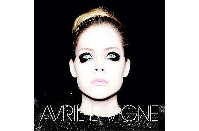 Capa do novo álbum de Avril Lavigne