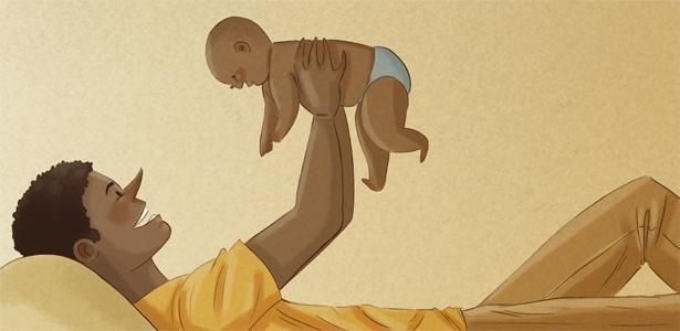 Os pais modernos estão tentando, ao máximo, se adaptar à nova realidade
