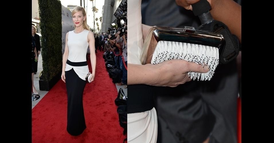 Cate Blanchett ousou na escolha do modelo