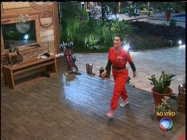 18.ago.2013 - Andressa vence Prova do Fazendeiro