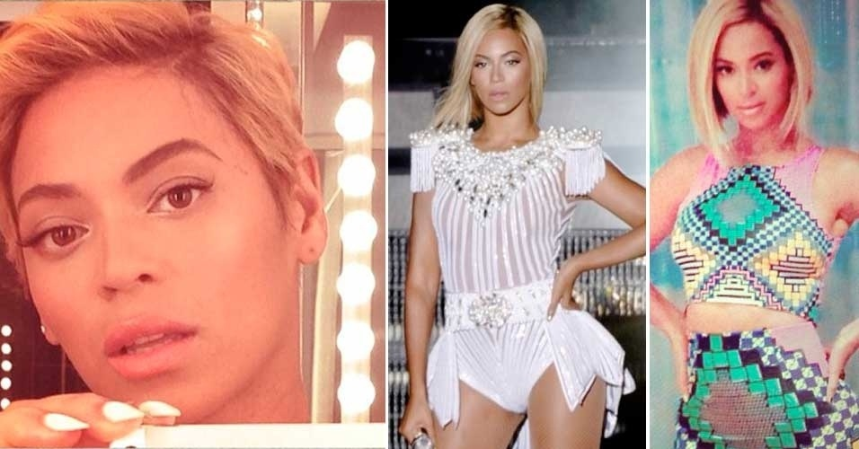 Beyoncé cabelo chanel