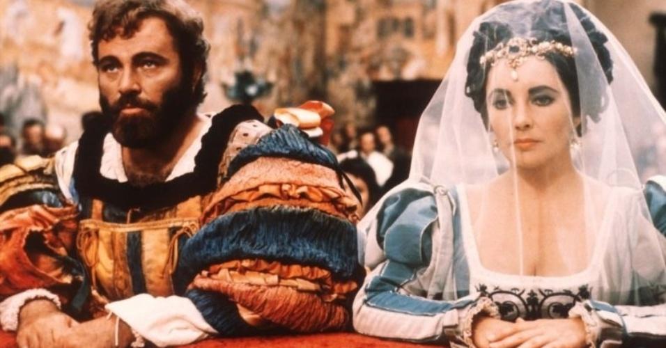 Elizabeth Taylor era casada com Eddie Fisher quando filmou