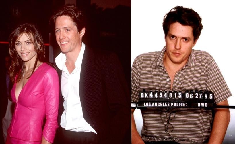 Em 1995, o inglês Hugh Grant foi flagrado com a prostituta Divine Brown em Sunset Boulevart, Los Angeles e chegou a ser detido. Na época, ele namorava com Elizabeth Hurley, que ainda ficou com o ator até 2000
