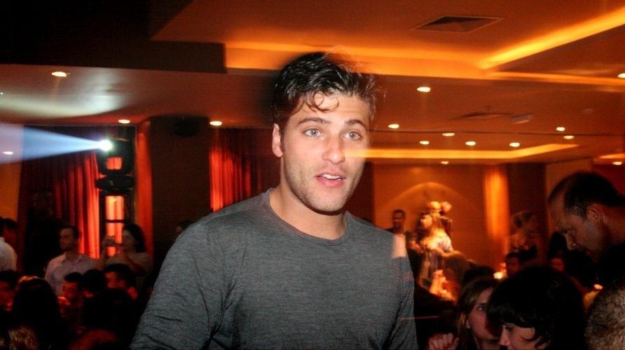 Bruno Gagliasso no prêmio Cool Awards 2008, no Buddah Bar, em São Paulo (22/12/08)
