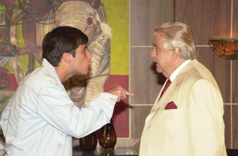 Inácio, papel de Bruno Gagliasso em