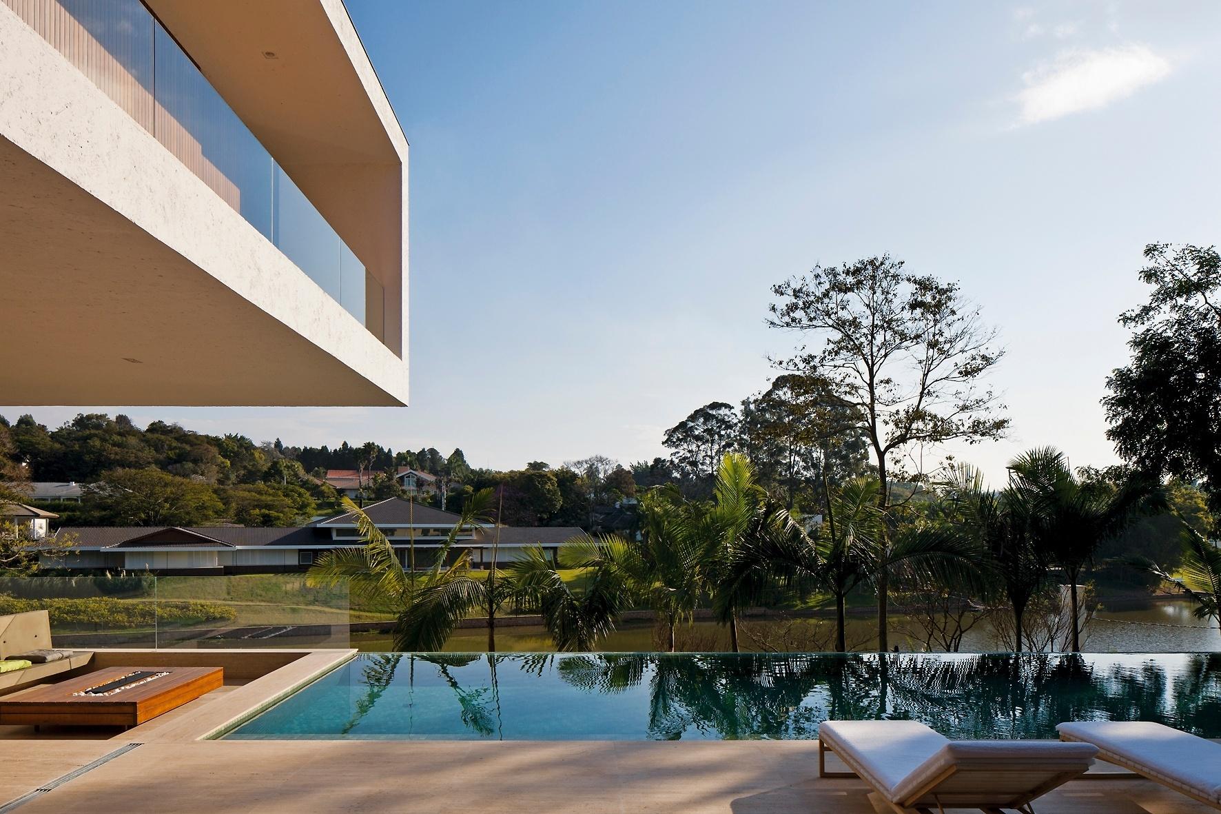Confira curiosidades e projetos de decoração de piscinas BOL Fotos  #3D668E 1772x1181 Arquitetura Banheiros Sp