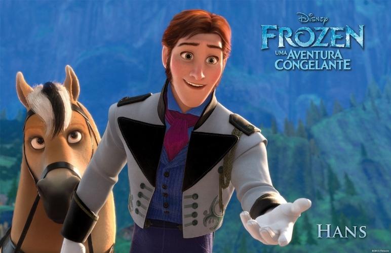 """Personagem Hans, de """"Frozen - Uma Aventura Congelante"""", nova animação da Disney"""