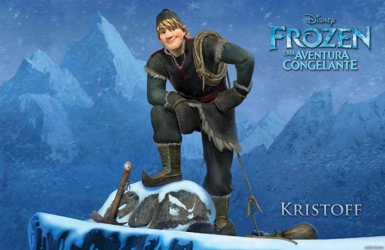 """Personagem Kristoff, de """"Frozen - Uma Aventura Congelante"""", nova animação da Disney"""