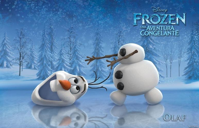 """Personagem Olaf, de """"Frozen - Uma Aventura Congelante"""", nova animação da Disney"""