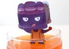 Fa�a um boneco 3D do guarda-costas Gelatino