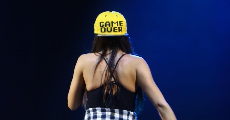 "25.ago.2013 - A funkeira carioca dona dos hits ""Show das Poderosas"", ""Menina Má"", ""Proposta"" e ""Meiga e Abusada"" leva o show ""A Festa!"" à baixada fluminense"