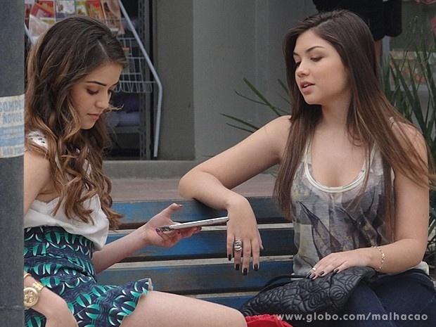 """Em """"Malhação"""", Flaviana planeja se vingar de Martin"""
