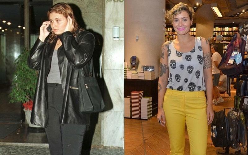 A atriz Rafaela Fischer mudou totalmente o visual em 2007. A filha de Vera diz que perdeu os quilos extras com exercícios e uma dieta balanceada, e sem a ajuda de remédios