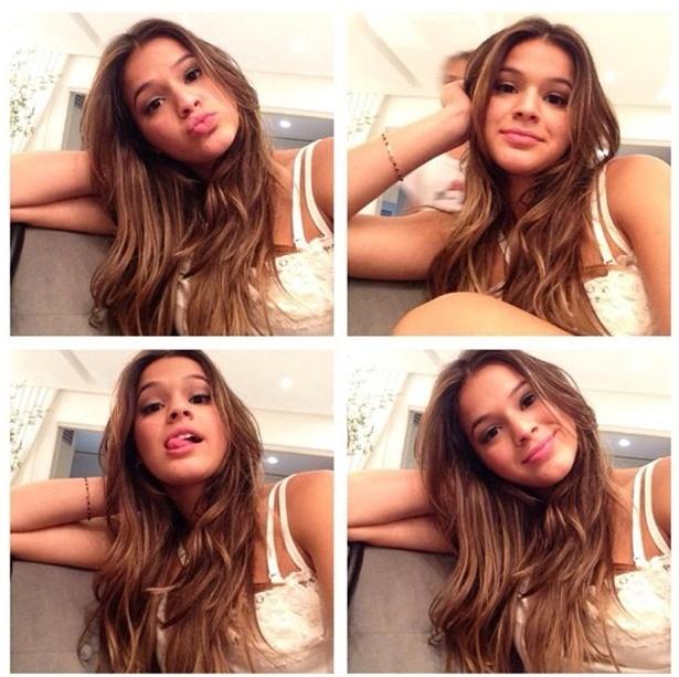 Neymar publica foto de Bruna Marquezine e se declara: