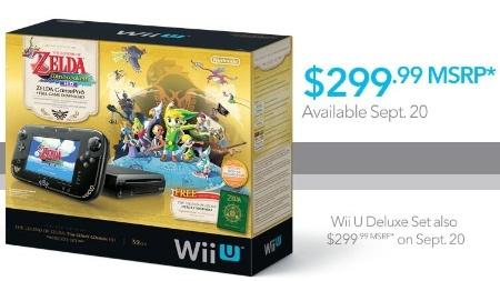 "Wii U Deluxe com cópia digital de ""Wind Waker HD"" já terá preço reduzido"