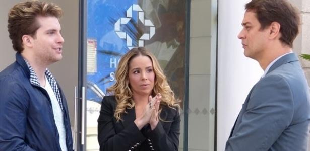 Amarilys (Danielle Winits) entre Niko (Thiago Fragoso) e Eron (Marcello Antony)