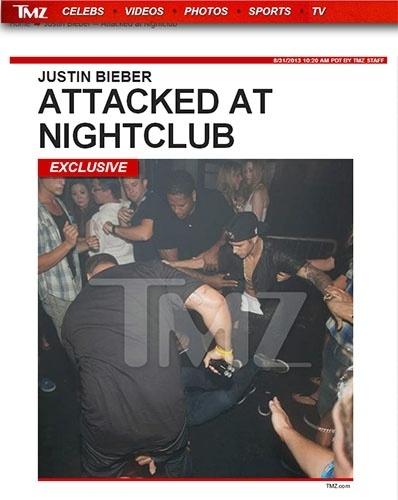 Justin Bieber é atacado por homem em boate de Toronto
