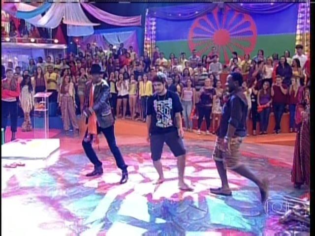 1.set.2013 - Durante participação no programa