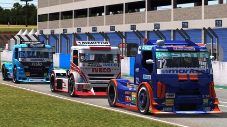 Simulador traz pistas e pilotos atualizados das corridas entre caminhões