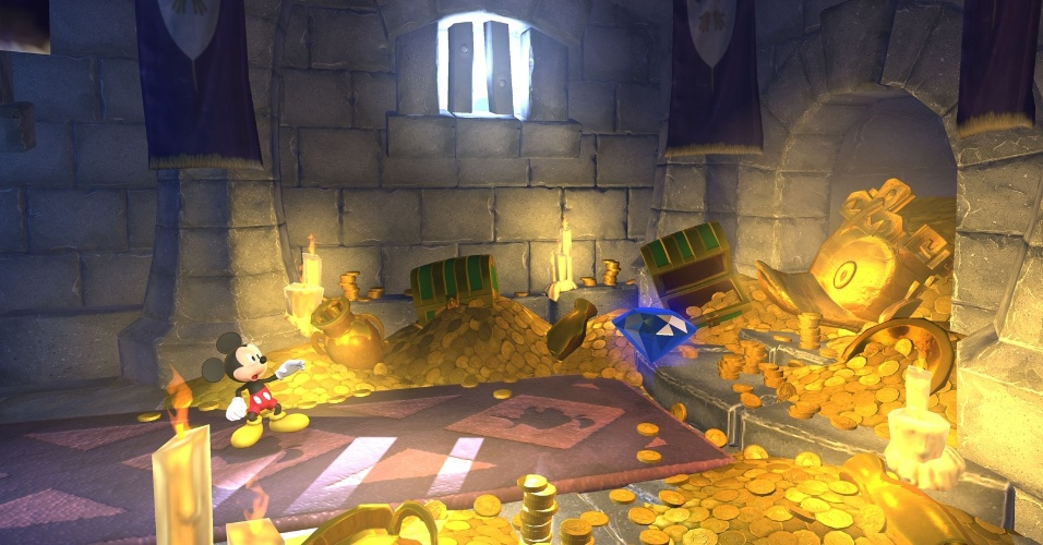 mickey mouse divulgacao mais castle of illusion starring mickey mouse