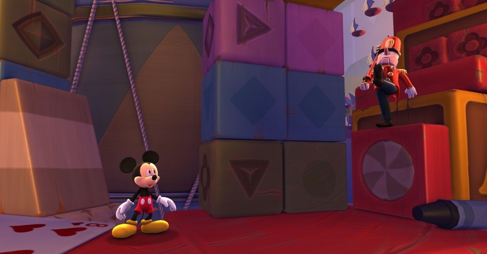 castle of illusion starring mickey mouse divulgacao mais castle of