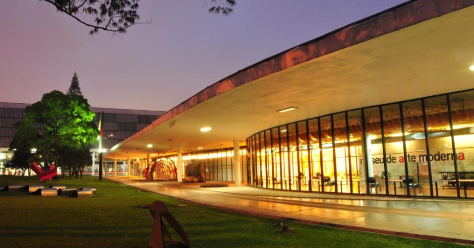 Fachada do MAM (Museu de Arte Moderna) de São Paulo