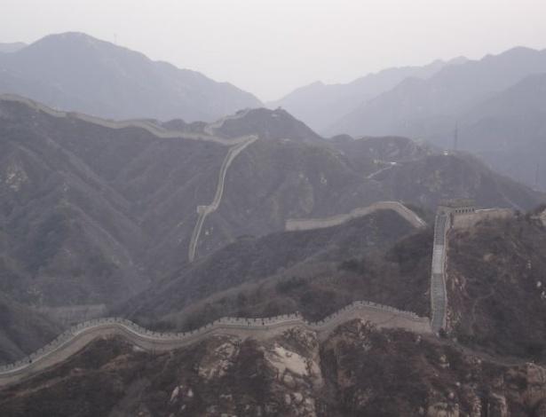 Muralha da china guia de viagem uol viagem for A muralha da china vista da lua