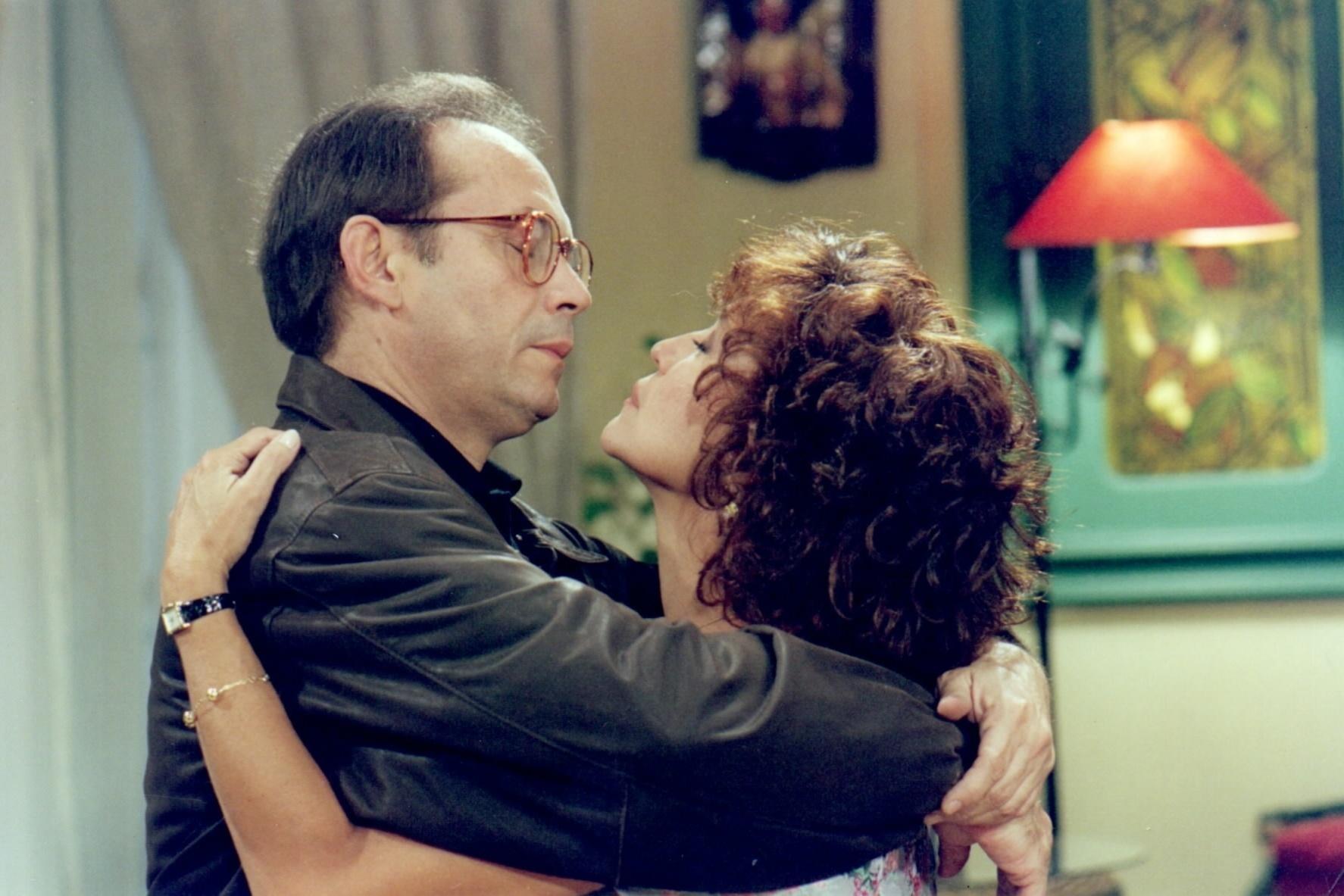 6.set.2013 - José Wilker e Susana Vieira interpretam Marcelo e Ana na novela