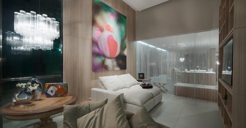 O Loft da Chef, desenhado pelos arquitetos Fábio Pinho e Fábio Pantaleão, tem ambientação
