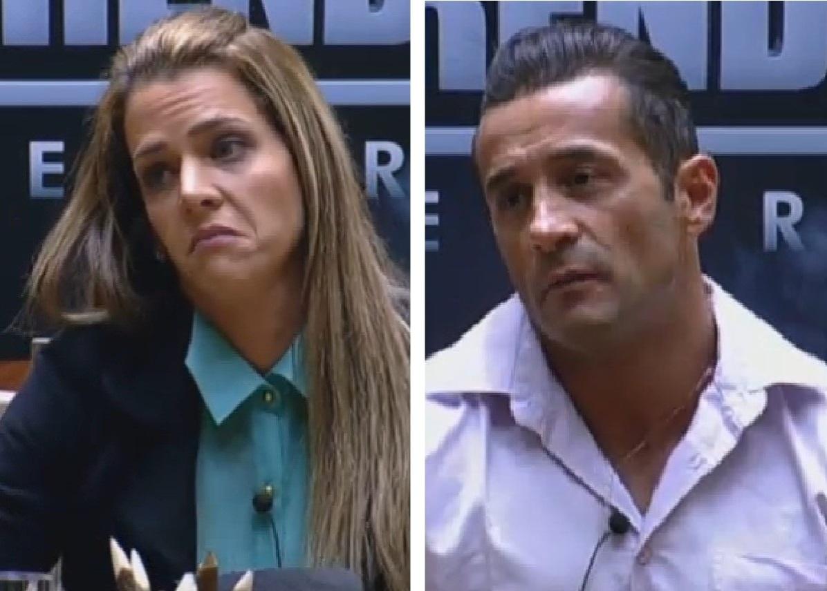 Denise Rocha e Marcos Oliver foram demitidos em