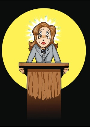 Falar bem em público é uma questão de prática. Para perder o medo, pare de fugir de apresentações