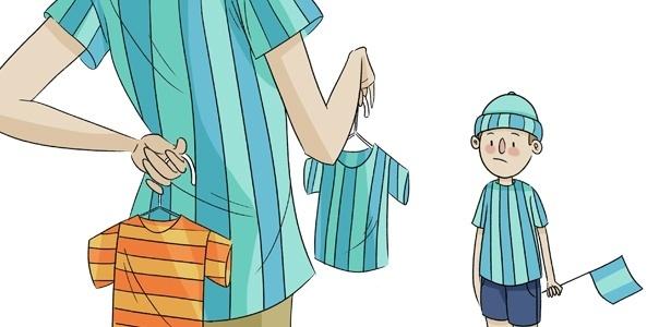 Os pais, geralmente, fazem pressão para que seus herdeiros sigam torcendo para o mesmo clube que eles