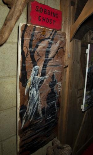 """Quadro pintado por Edward Warren, demonologista que inspirou o filme """"Invocação do Mal"""""""