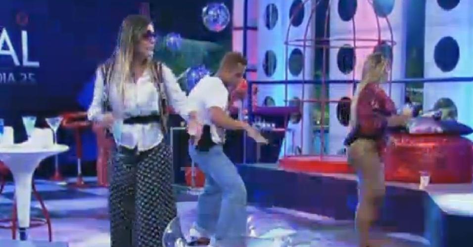 11.set.201- Andressa Urach dançando durante a festa