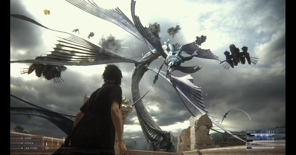 """Antigo """"Final Fantasy Versus XIII"""", o RPG de ação passou tanto tempo sendo desenvolvido que vai chegar como """"Final Fantasy XV"""""""