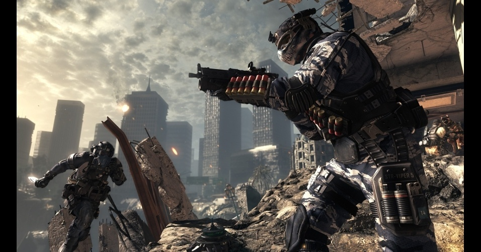 """""""Call of Duty: Ghosts"""" traz novos modos multiplayer e foi feito com uma nova engine"""