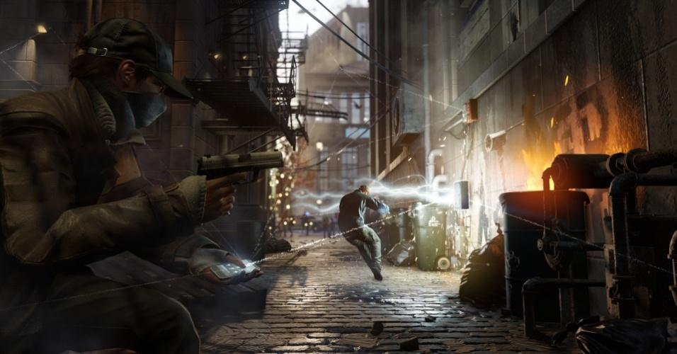 """Da Ubisoft, """"Watch Dogs"""" também terá uma versão dedicada ao PlayStation 4"""