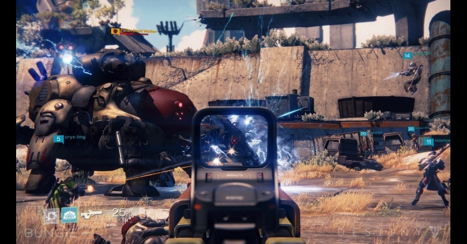 """""""Destiny"""", da Bungie, terá conteúdo exclusivo para os futuros donos de PlayStation 4"""