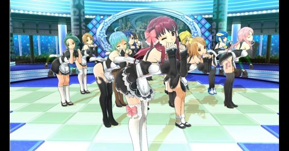 """""""Dream Club: Host Girls on Stage"""" (exclusivo do PS4) é novo jogo da franquia de simulador de namoro"""