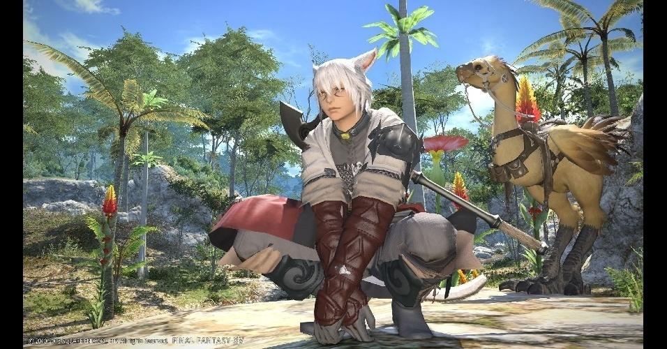 """""""Final Fantasy XIV Online: A Realm Reborn"""" é um MMO que traz versão aprimorada do jogo de 2010"""